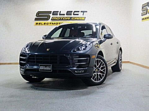 Volcano Grey Metallic 2017 Porsche Macan Turbo