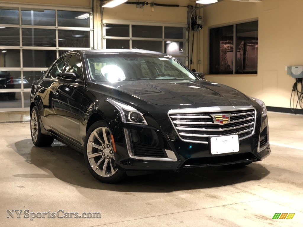2018 CTS Luxury AWD - Black Raven / Jet Black/Jet Black Accents photo #1