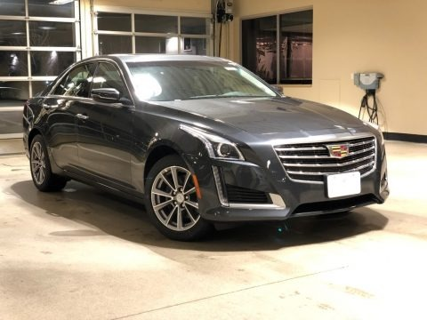 Phantom Gray Metallic 2018 Cadillac CTS Luxury AWD