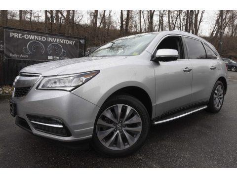Silver Moon 2014 Acura MDX SH-AWD Technology
