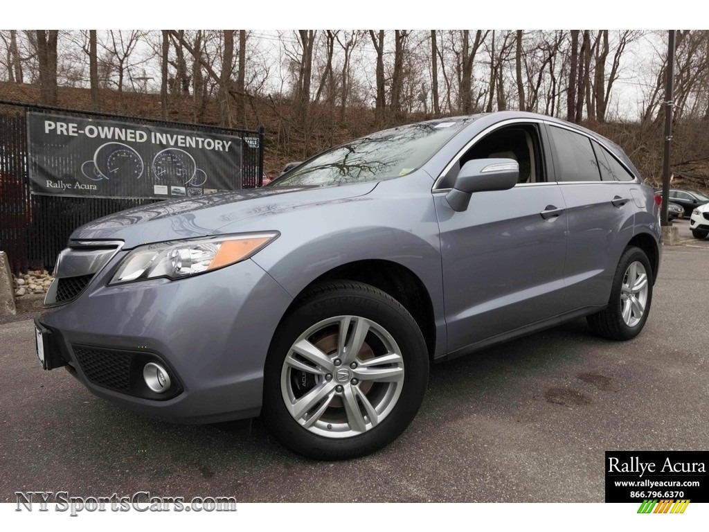 Forged Silver Metallic / Parchment Acura RDX Technology
