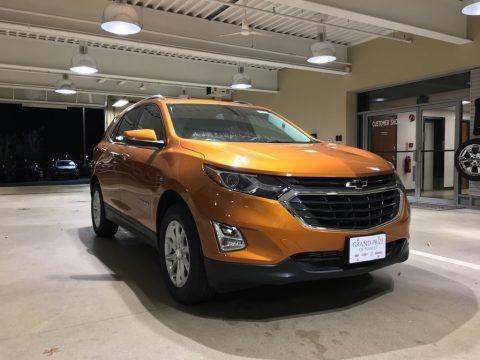 Orange Burst Metallic 2018 Chevrolet Equinox LT AWD