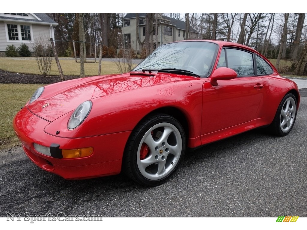 1998 911 Carrera S Coupe - Guards Red / Black photo #1