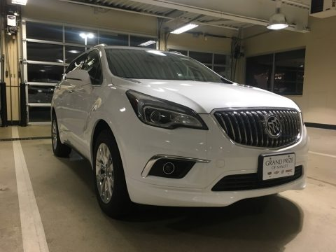 Summit White 2018 Buick Envision Essence