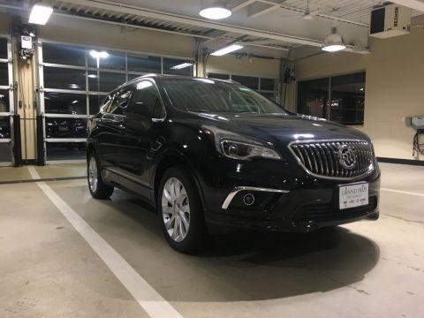 Ebony Twilight Metallic 2018 Buick Envision Premium AWD