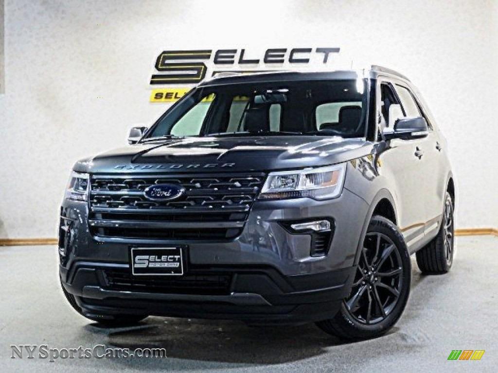 2018 Explorer XLT 4WD - Magnetic Metallic / Ebony Black photo #1