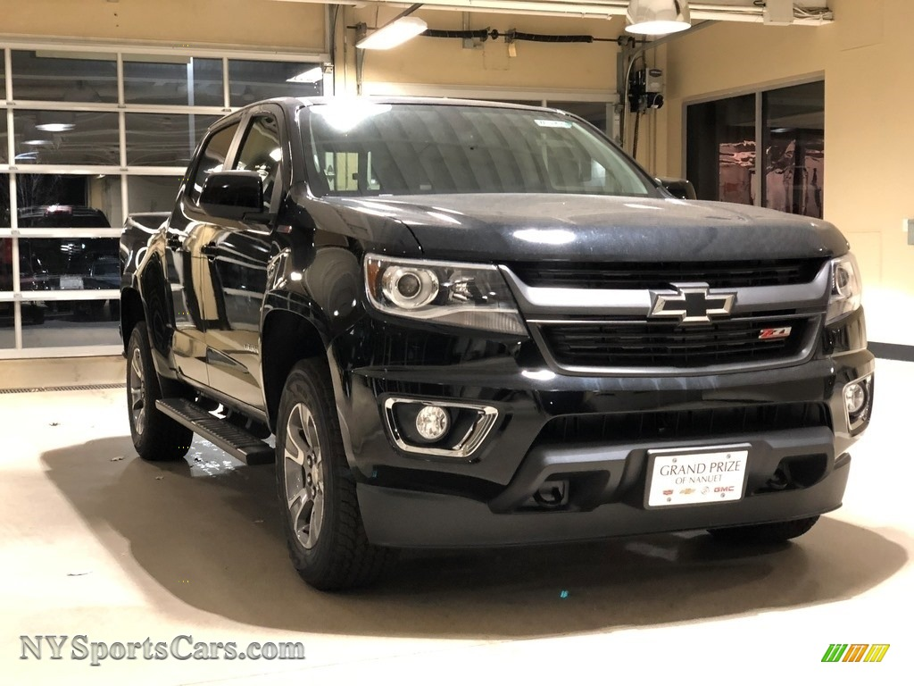 2018 Colorado Z71 Crew Cab 4x4 - Black / Jet Black photo #1