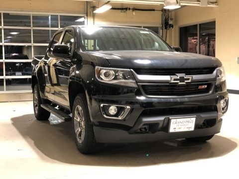 Black 2018 Chevrolet Colorado Z71 Crew Cab 4x4