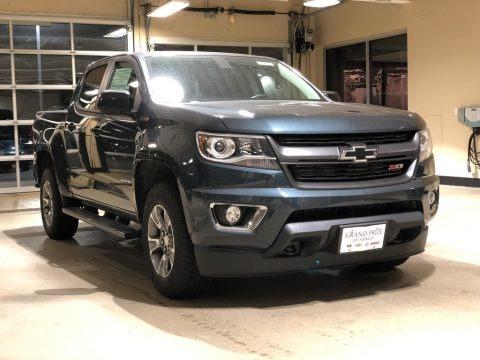 Graphite Metallic 2018 Chevrolet Colorado Z71 Crew Cab 4x4