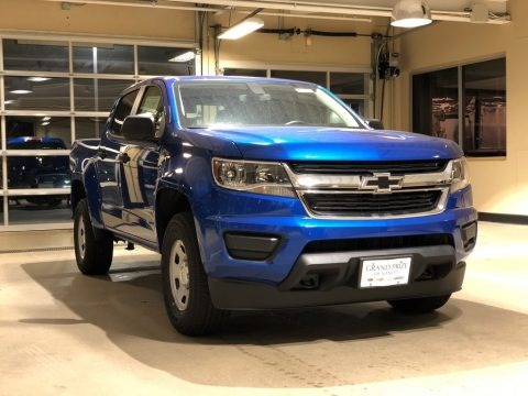 Kinetic Blue Metallic 2018 Chevrolet Colorado WT Crew Cab 4x4