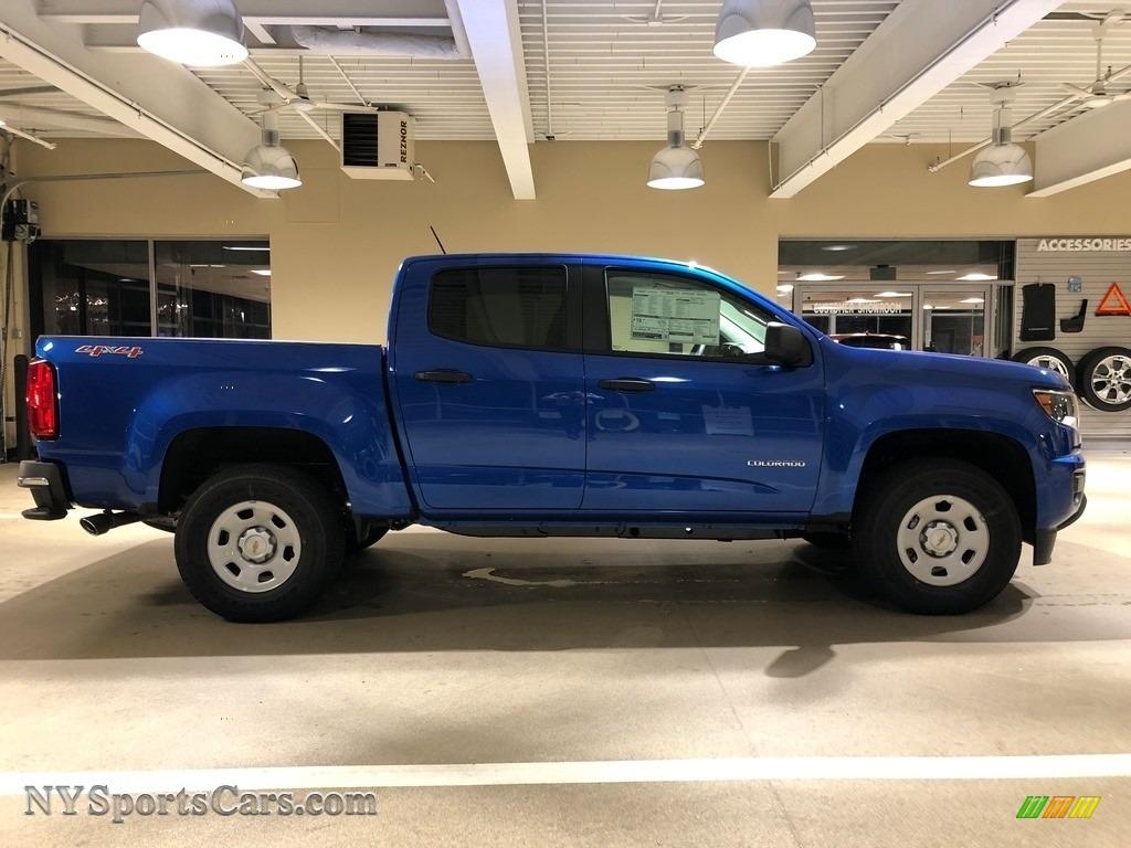 2018 Chevrolet Colorado WT Crew Cab 4x4 in Kinetic Blue ...