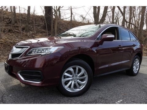 Basque Red Pearl II 2017 Acura RDX Technology AWD