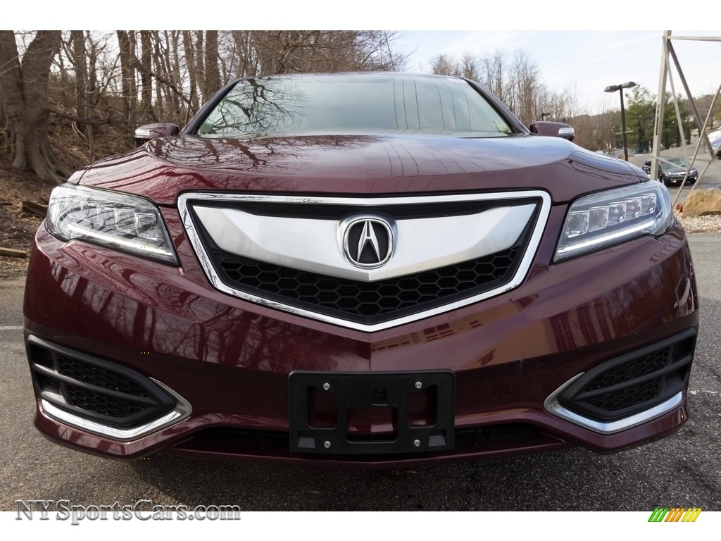 2017 RDX Technology AWD - Basque Red Pearl II / Parchment photo #2