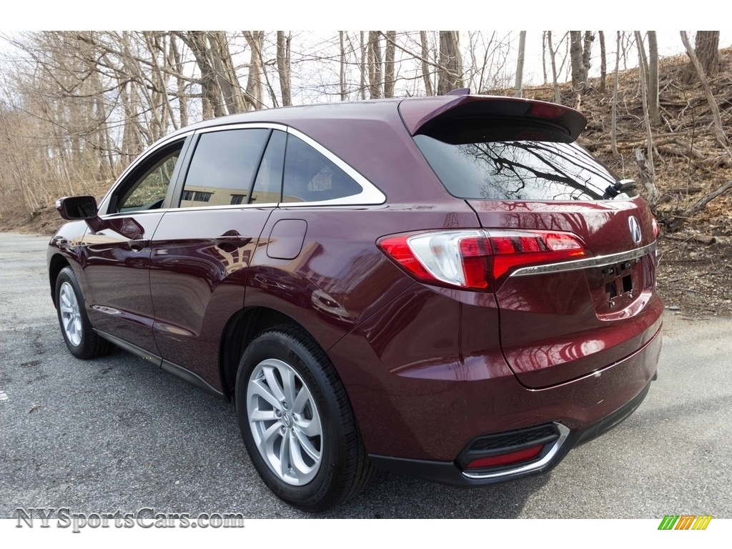 2017 RDX Technology AWD - Basque Red Pearl II / Parchment photo #4