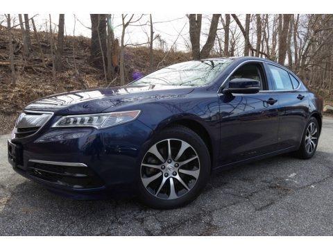 Fathom Blue Pearl 2015 Acura TLX 2.4