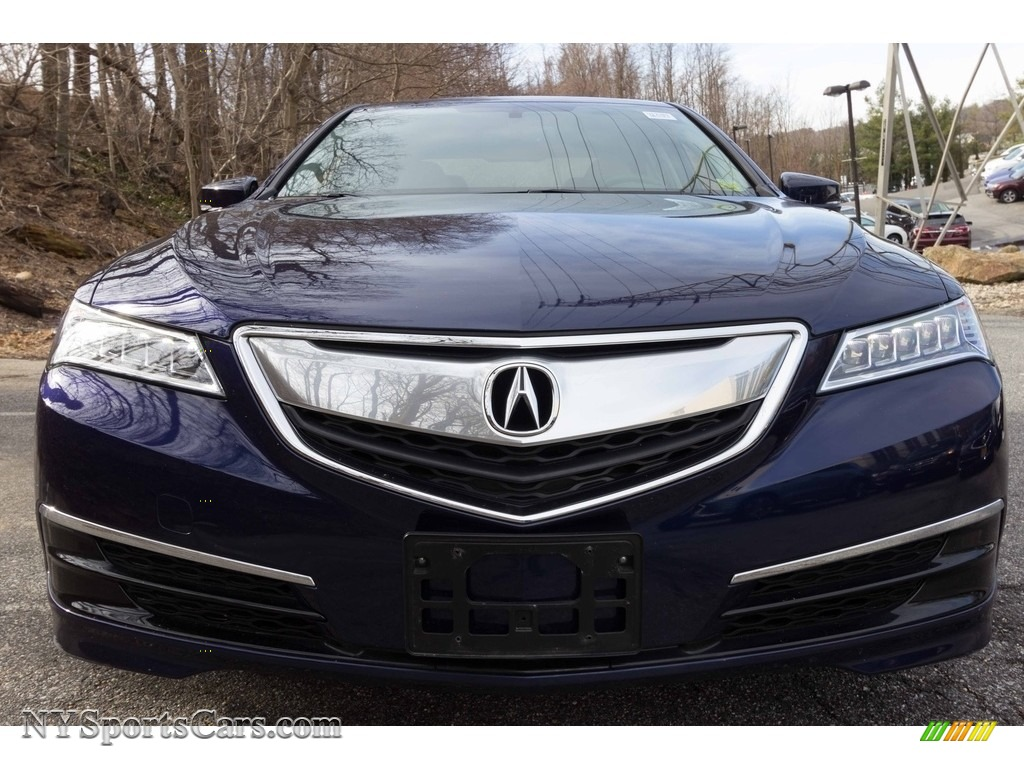 2015 TLX 2.4 - Fathom Blue Pearl / Graystone photo #2