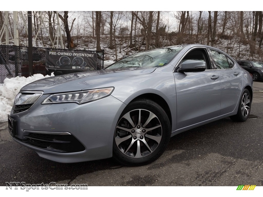 2015 TLX 2.4 - Slate Silver Metallic / Graystone photo #1