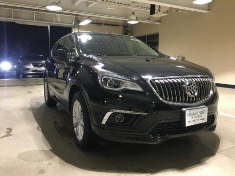 Ebony Twilight Metallic 2018 Buick Envision Preferred