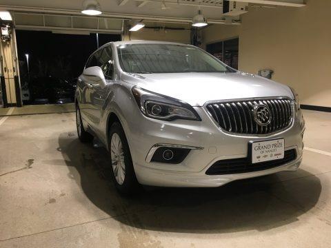 Galaxy Silver Metallic 2018 Buick Envision Preferred