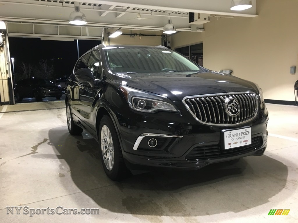 2018 Envision Essence AWD - Ebony Twilight Metallic / Ebony photo #1