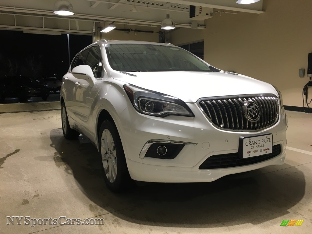 2018 Envision Premium AWD - Summit White / Light Neutral photo #1