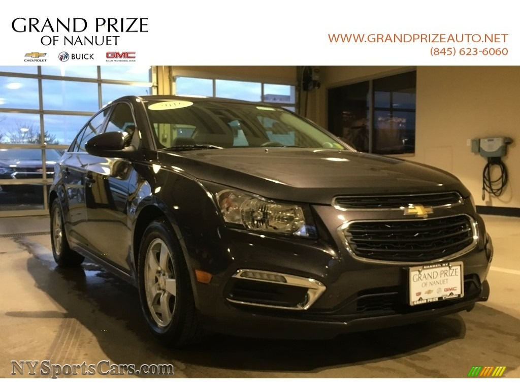 2016 Cruze Limited LT - Tungsten Metallic / Jet Black photo #1