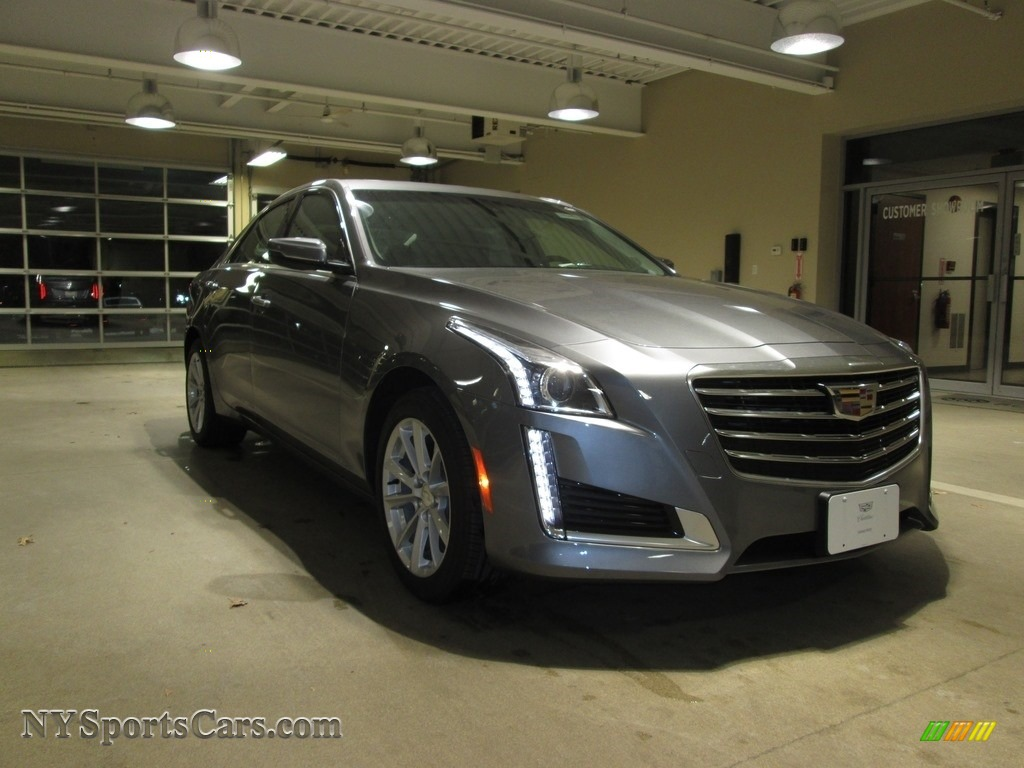 Satin Steel Metallic / Jet Black/Jet Black Accents Cadillac CTS AWD