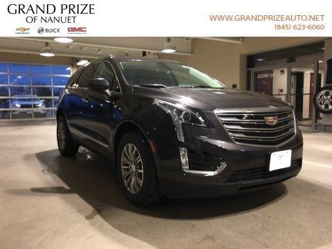 Dark Granite Metallic 2018 Cadillac XT5 Luxury AWD