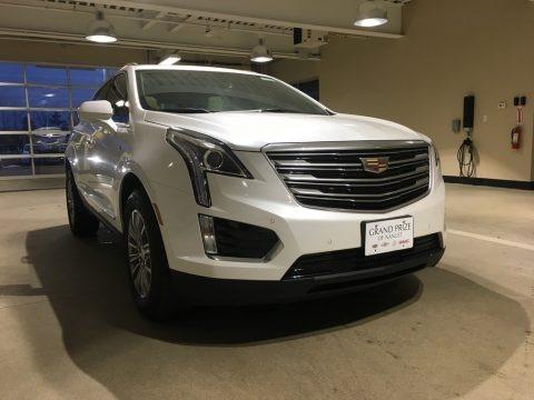 Crystal White Tricoat 2018 Cadillac XT5 Luxury AWD