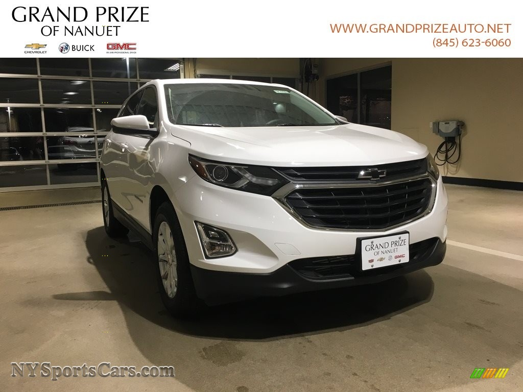 2018 Equinox LT AWD - Summit White / Jet Black photo #1