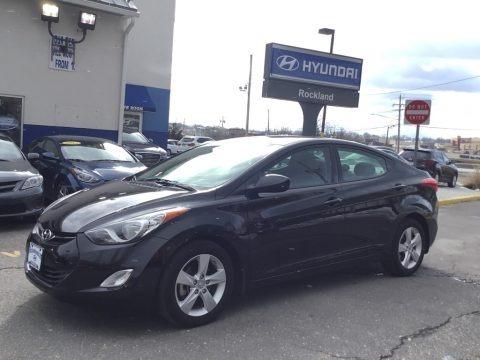 Black 2013 Hyundai Elantra GLS