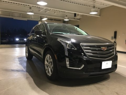 Stellar Black Metallic 2018 Cadillac XT5 Luxury AWD