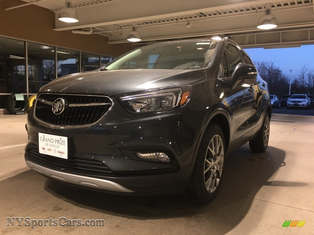 2018 Encore Sport Touring - Graphite Gray Metallic / Ebony photo #2