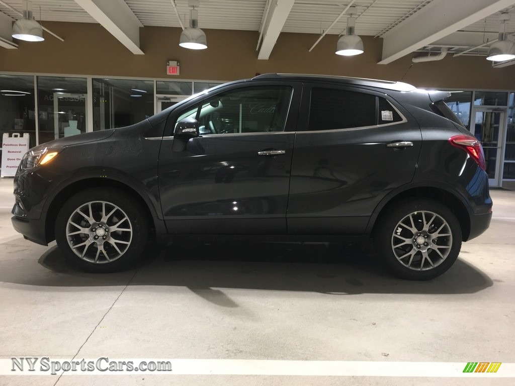 2018 Encore Sport Touring - Graphite Gray Metallic / Ebony photo #3