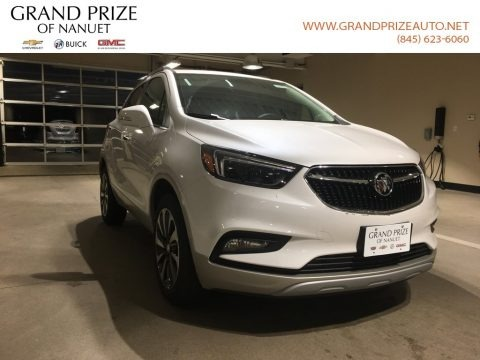 White Frost Tricoat 2018 Buick Encore Essence AWD