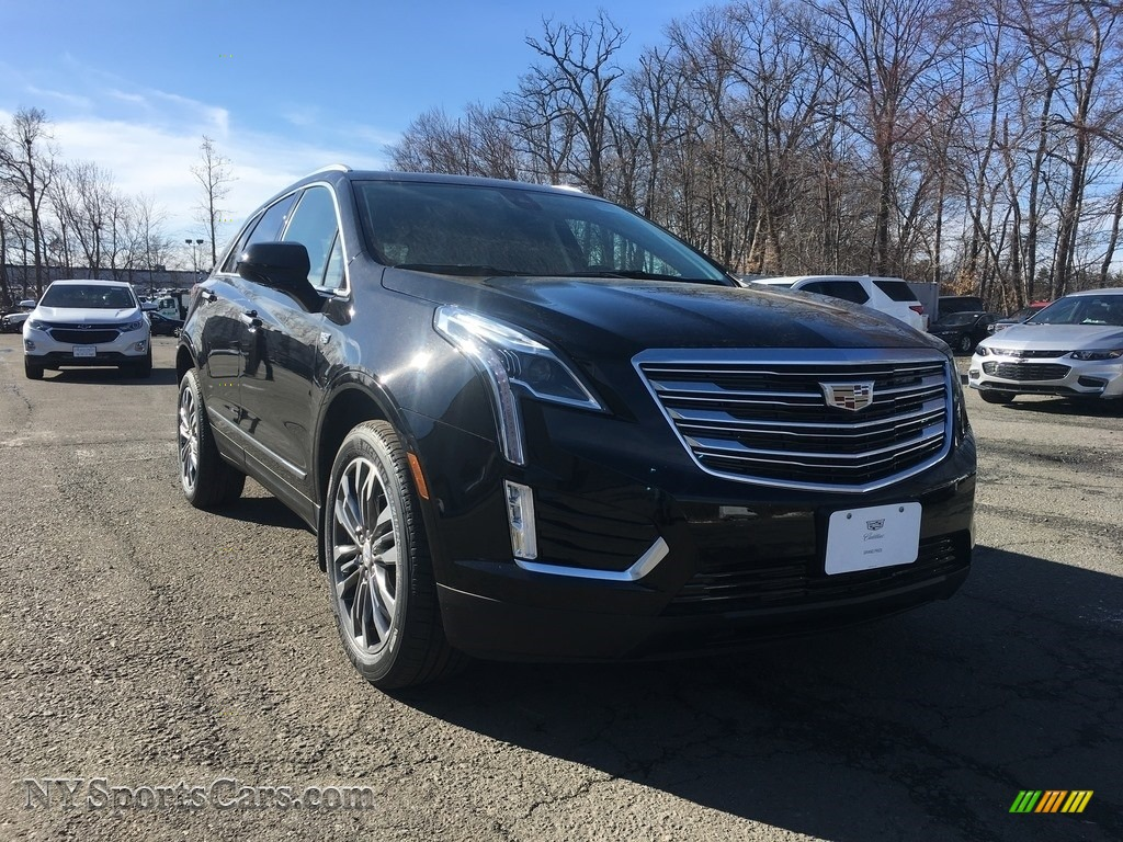 Stellar Black Metallic / Jet Black Cadillac XT5 Premium Luxury AWD