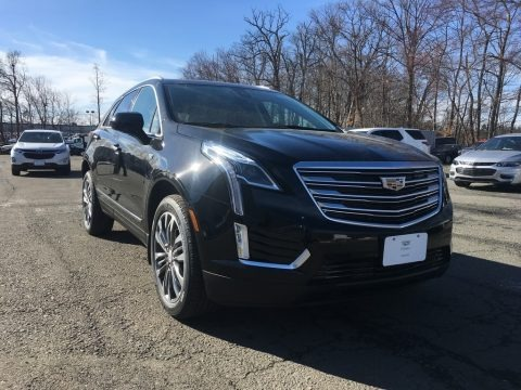 Stellar Black Metallic 2018 Cadillac XT5 Premium Luxury AWD