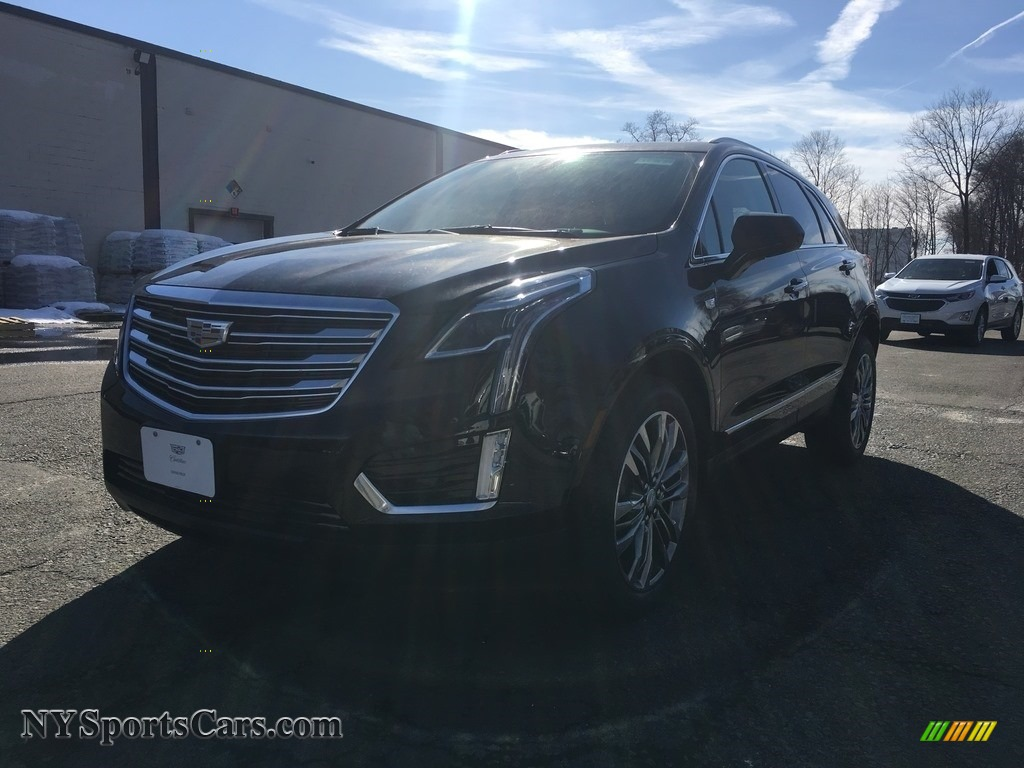 2018 XT5 Premium Luxury AWD - Stellar Black Metallic / Jet Black photo #2