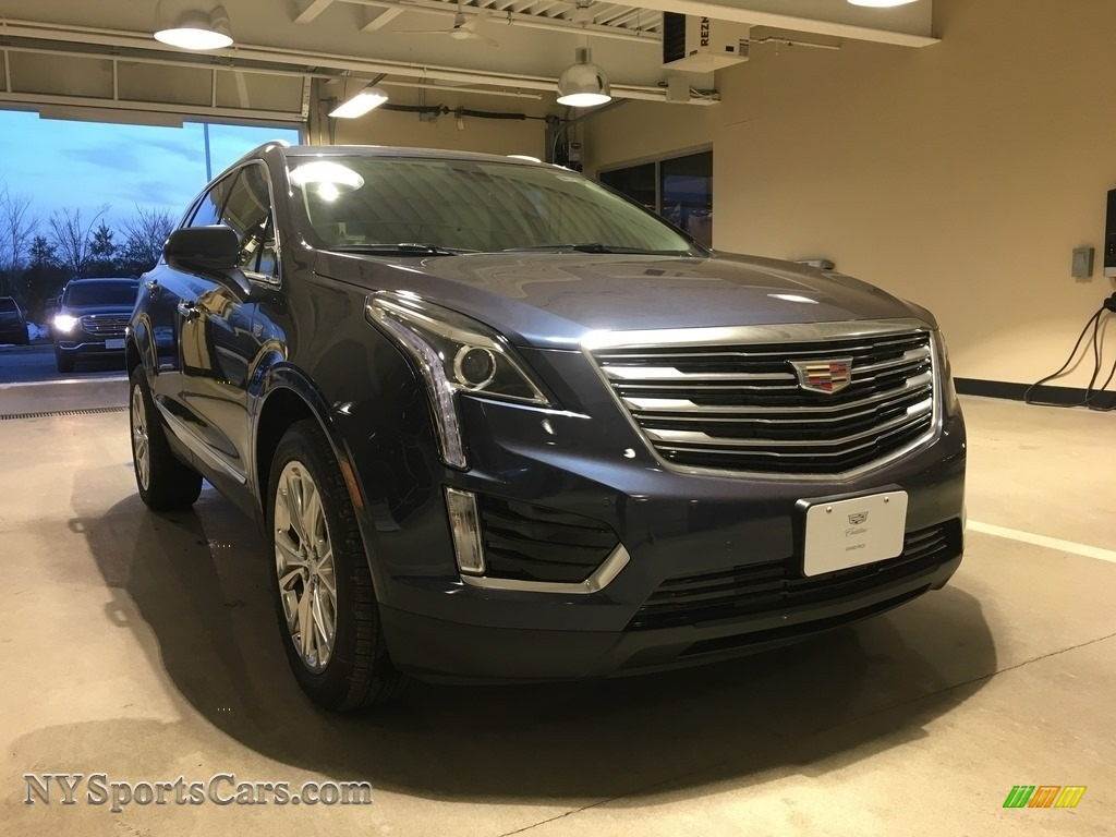2018 XT5 Luxury AWD - Harbor Blue Metallic / Cirrus photo #1