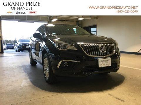 Ebony Twilight Metallic 2018 Buick Envision Preferred AWD