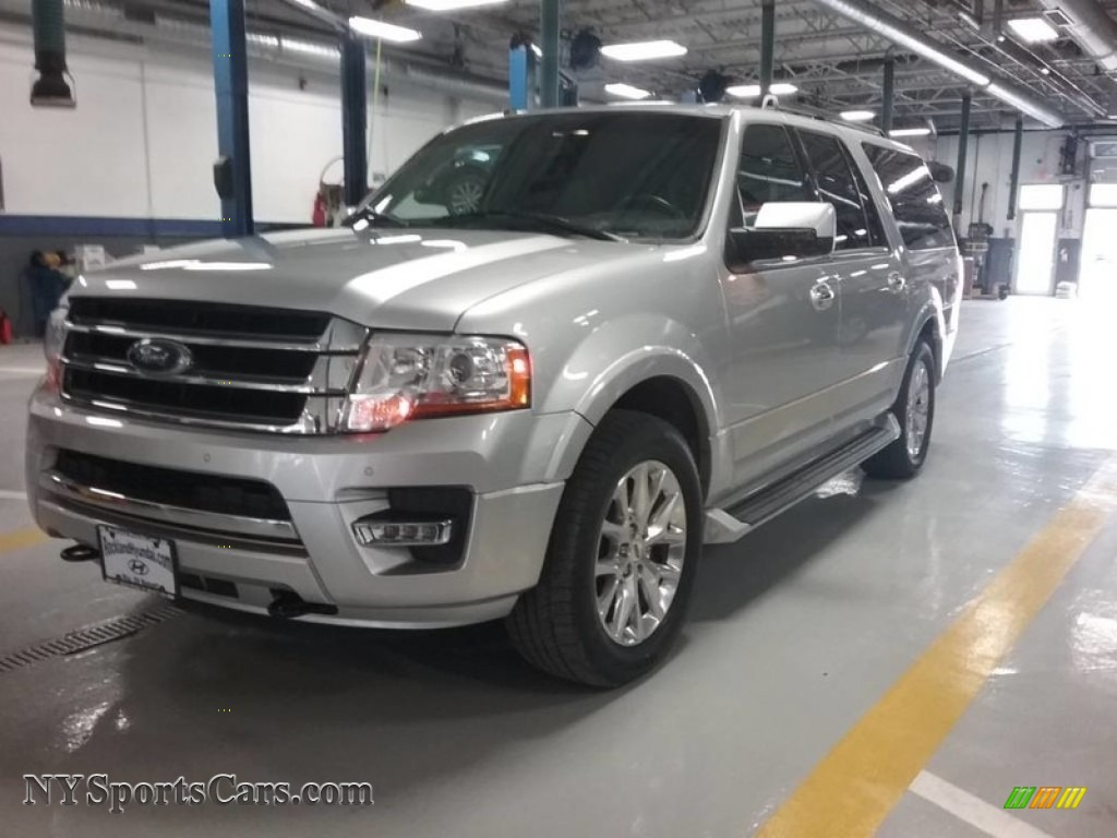 Ingot Silver / Ebony Ford Expedition EL Limited 4x4