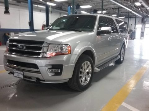 Ingot Silver 2017 Ford Expedition EL Limited 4x4