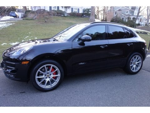 Black 2016 Porsche Macan Turbo