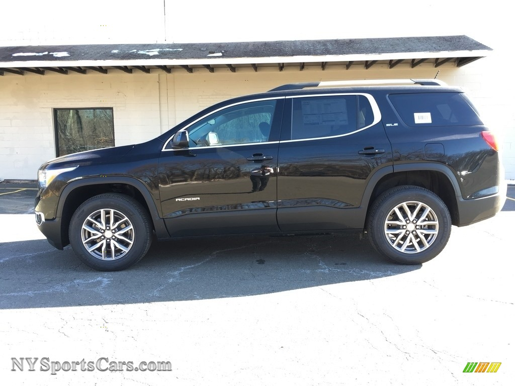 2018 Acadia SLE AWD - Ebony Twilight Metallic / Jet Black photo #3