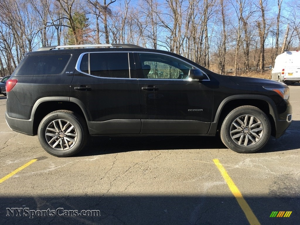 2018 Acadia SLE AWD - Ebony Twilight Metallic / Jet Black photo #7
