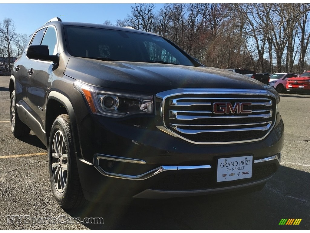 Iridium Metallic / Jet Black GMC Acadia SLE AWD