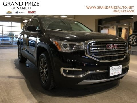 Ebony Twilight Metallic 2018 GMC Acadia SLT AWD