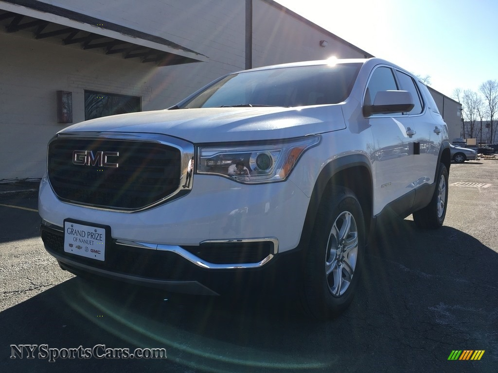 2018 Acadia SLE AWD - Summit White / Jet Black photo #2