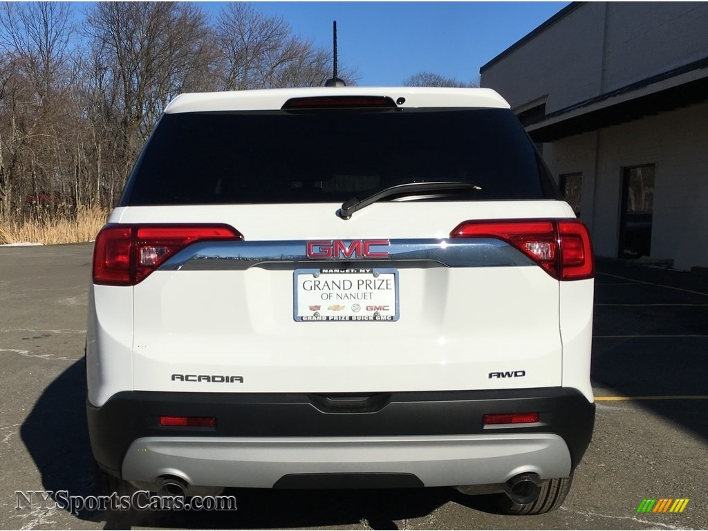 2018 Acadia SLE AWD - Summit White / Jet Black photo #5