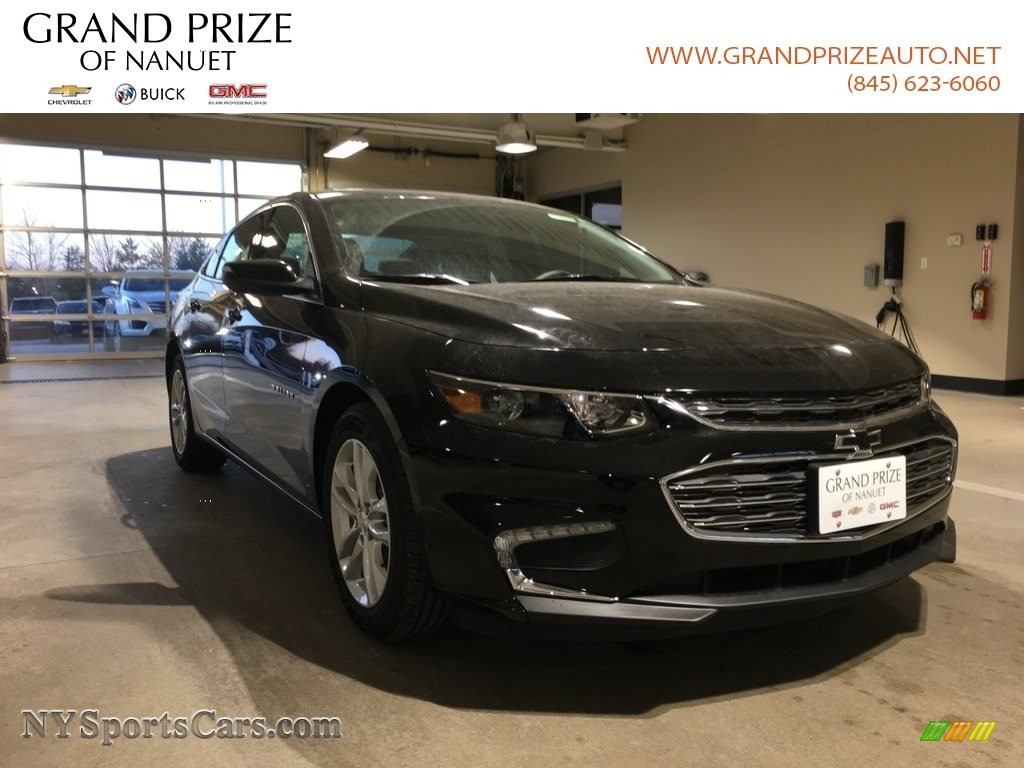 2018 Malibu LT - Mosaic Black Metallic / Jet Black photo #1